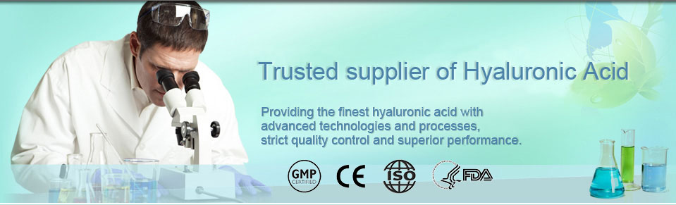 Stanford Chemicals, Hyaluronic Acid Supplier - Banner